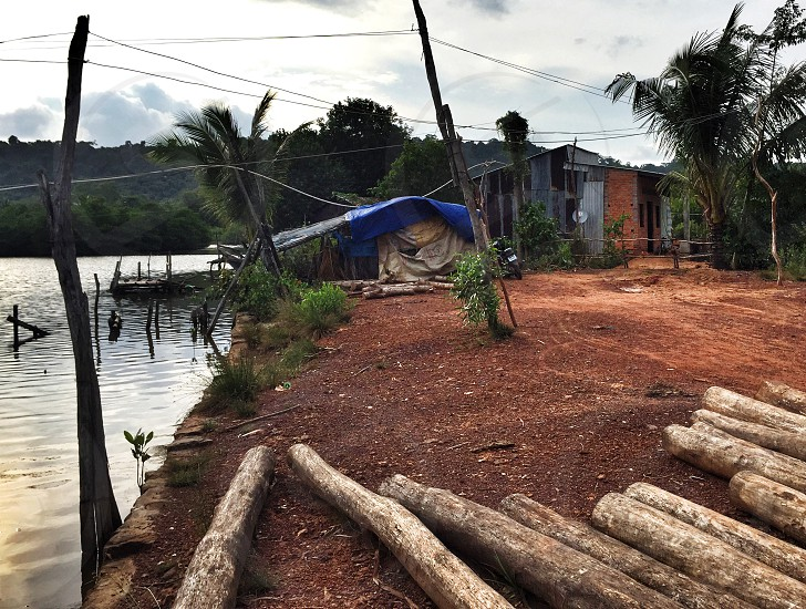 Village on Phu Quoc Island Vietnam photo