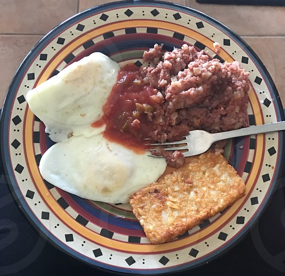 Comfort food;breakfast;morning;cholesterol;eggs photo