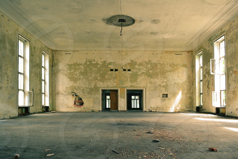 Theatre Vogelsang former Russian Village in East Germany photo