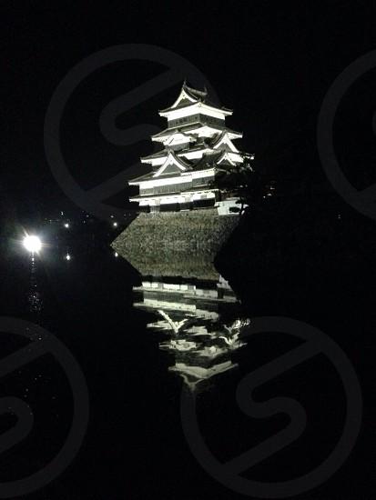 Japanese castle Matsumoto photo