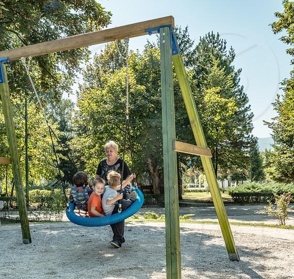 Playful Toddlers - Sarajevo Bosnia and Herzegovina photo