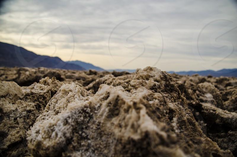 Devils Golf Course in Death Valley California photo