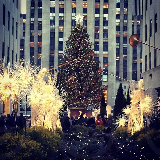 Rockefeller Center at Christmas. photo