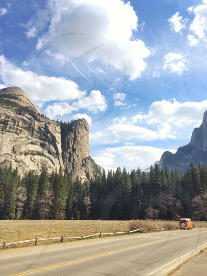 Van Life Yosemite National Park.  photo