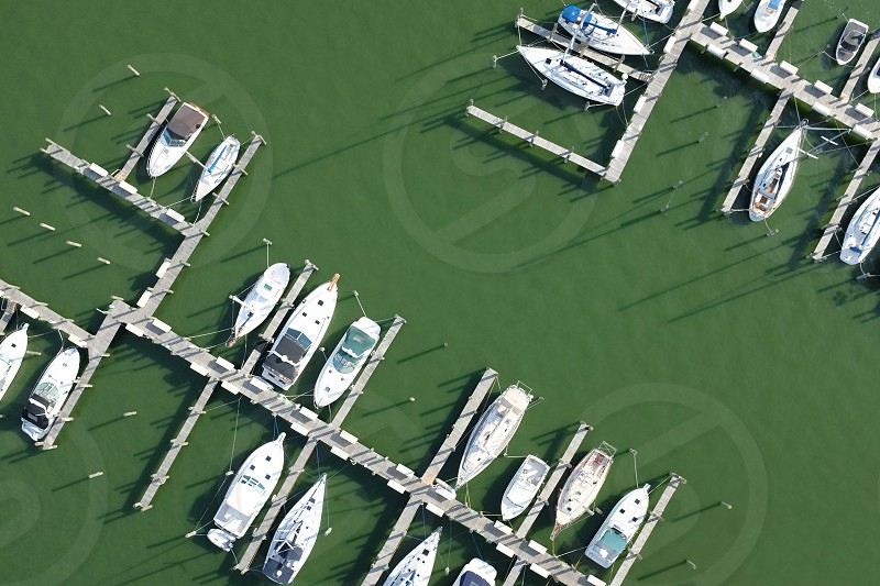 Boats From Above photo