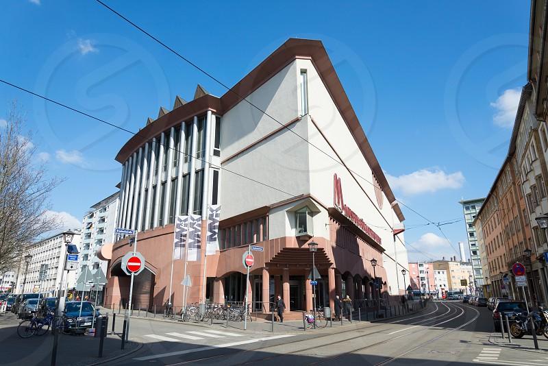 Museum für Moderne Kunst in Frankfurt Germany  photo