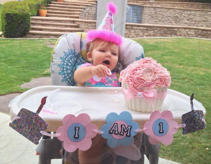 Birthday Cake. photo