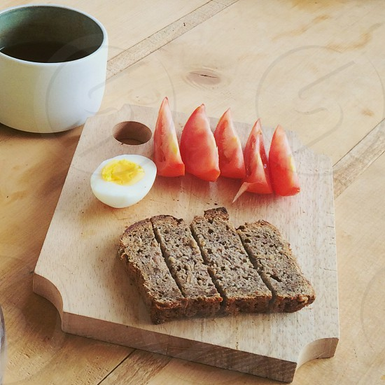 Simple breakfast photo