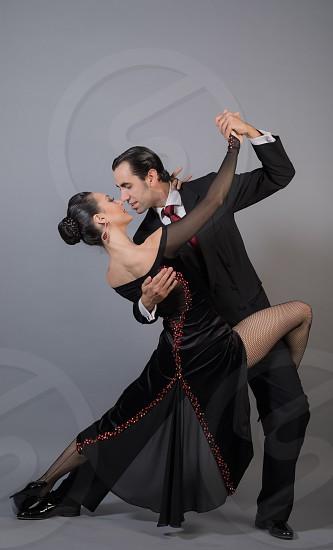 Tango dancers argentinian art photo