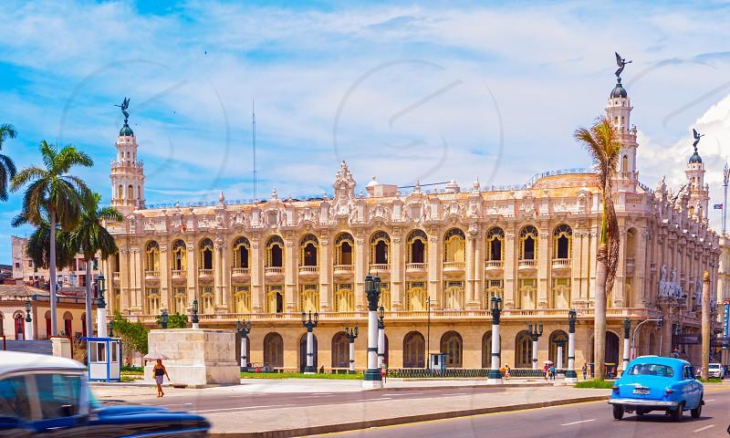 The Gran Teatro de La Habana in Havana Cuba photo