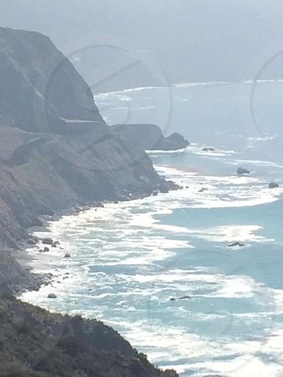 Coastline of Big Sure at Point 16 photo