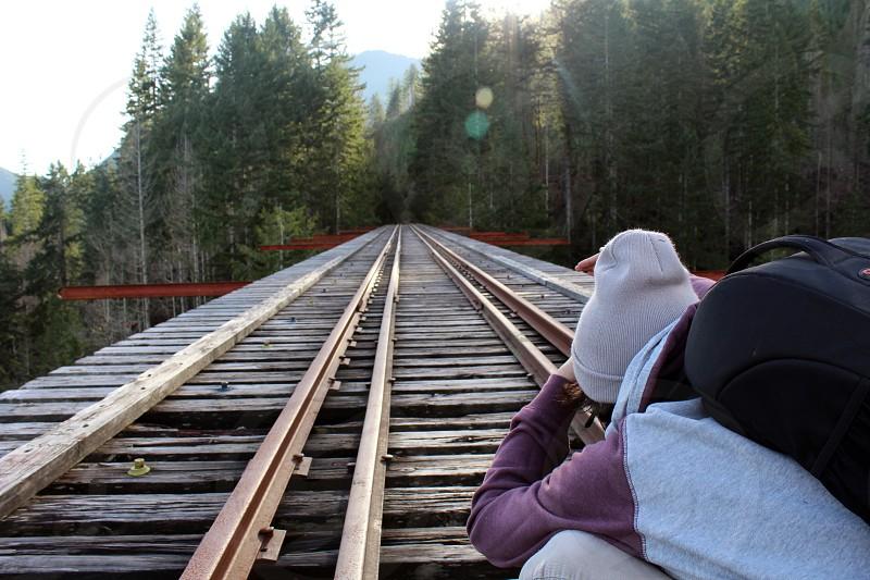 Bridge photographer Vance creek photo