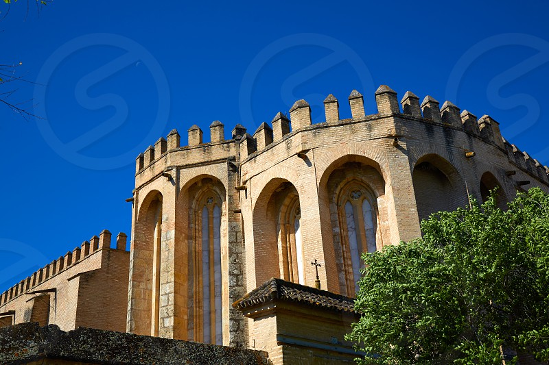 Saint Isidoro Campo Monastery in Santiponce by Via de la Plata way andalusia photo