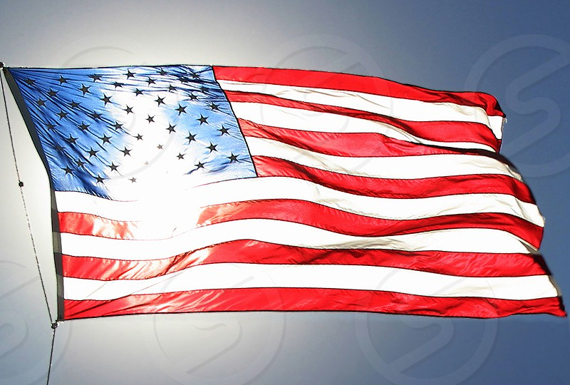 The United States Flag. photo