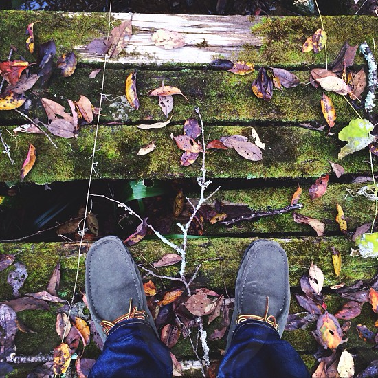 grey boat shoes photo