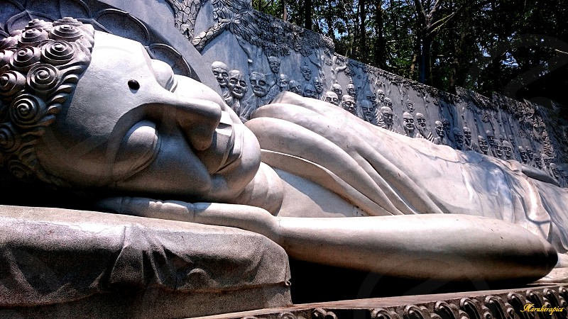 Sleeping Lady Buddah photo