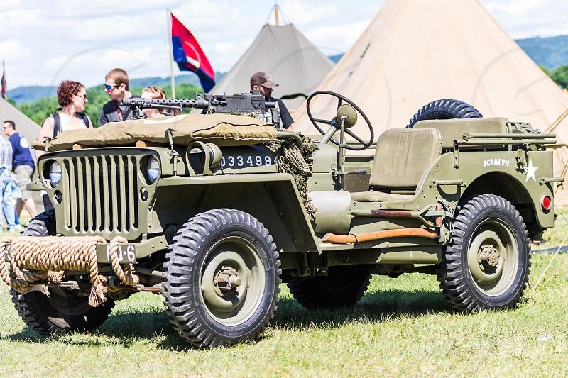 WWII Jeep photo