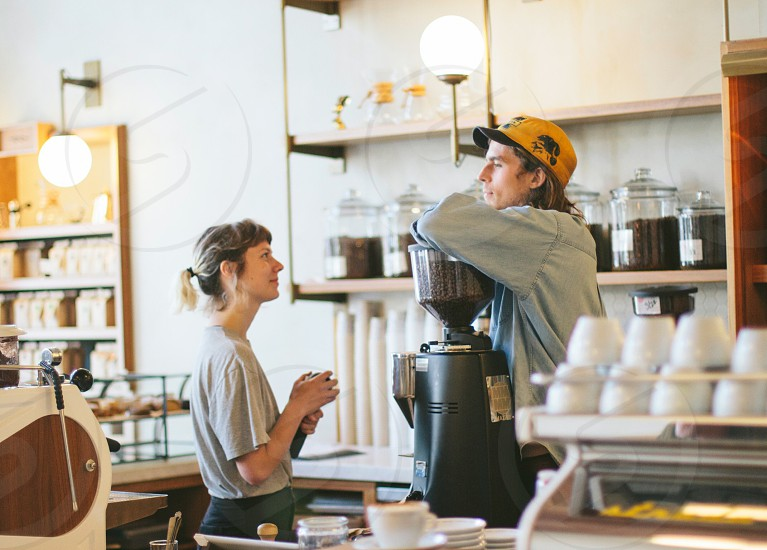 Sightglass Coffee baristas portrait photo