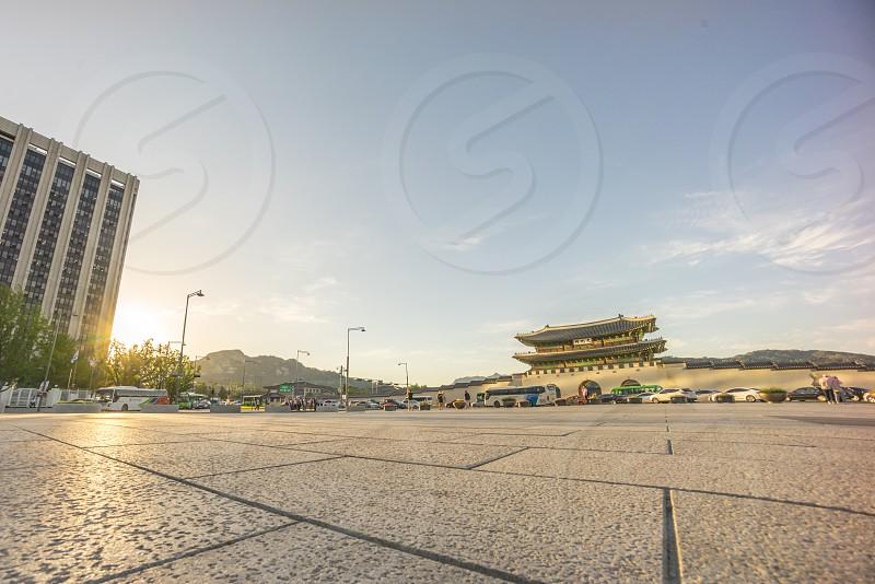ground shot of a landmark during daytime photo