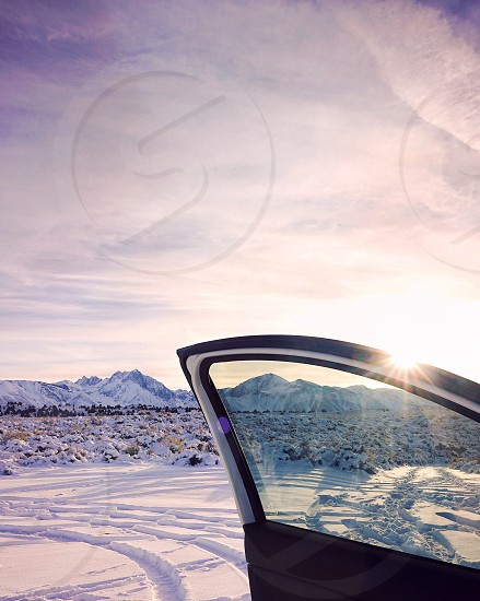 Winter snow car photo