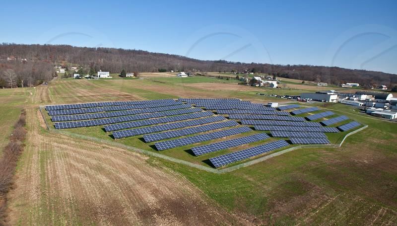 Solar Aerial photo