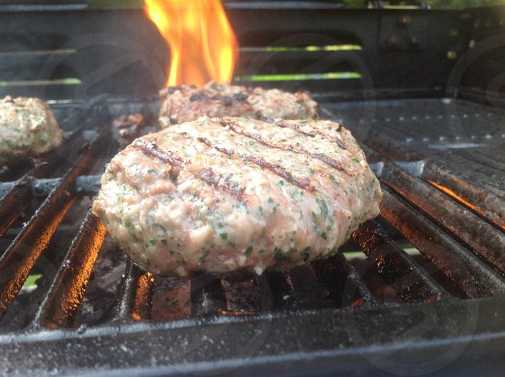 Burger  Fire  Flame  Yummy  Sizzle  Barbecue  Family  Together photo