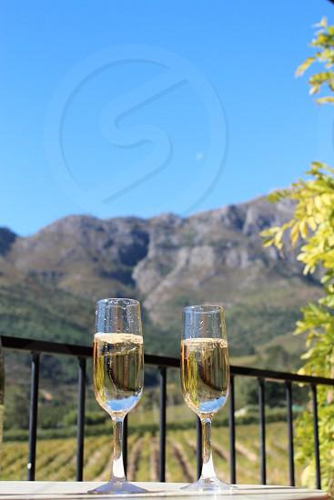 Champagne happy hour photo