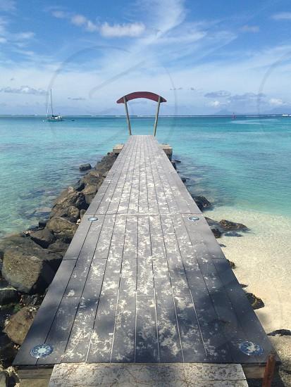 Ocean pier photo