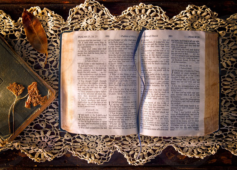 Antique Books - Bible photo