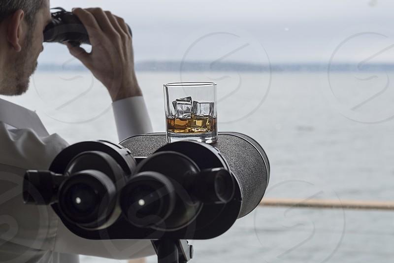 Alcoholic and coffee drinks photo