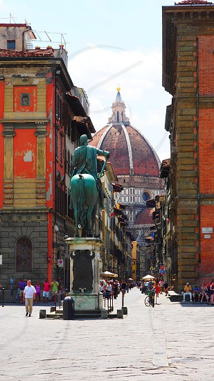 Piazza del Duomo Florence Italy photo