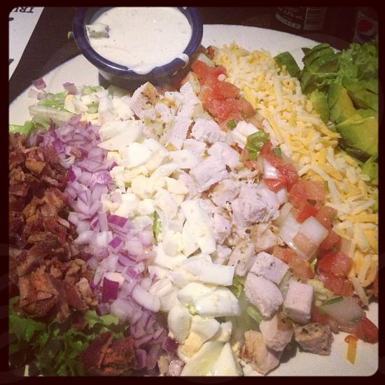 healthy cob salad photo