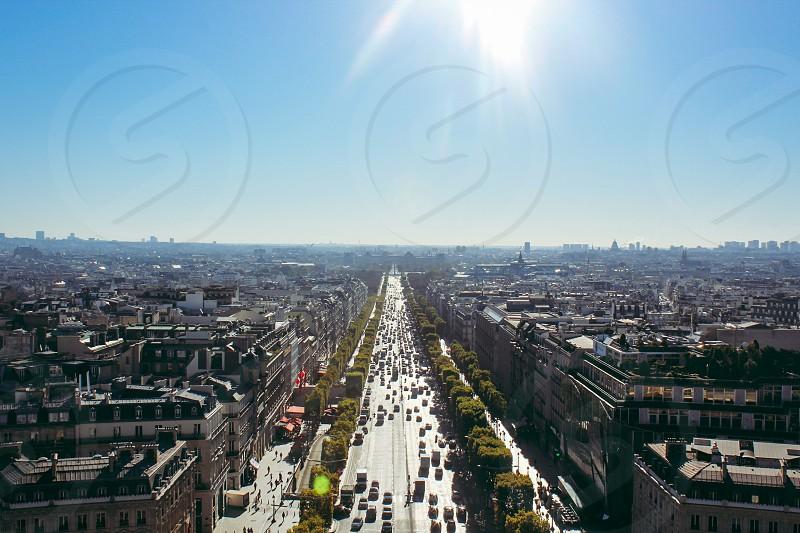 Paris street city photo