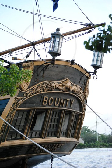 The HMS Bounty on a visit to the Cape Fear a few months before it sank. photo