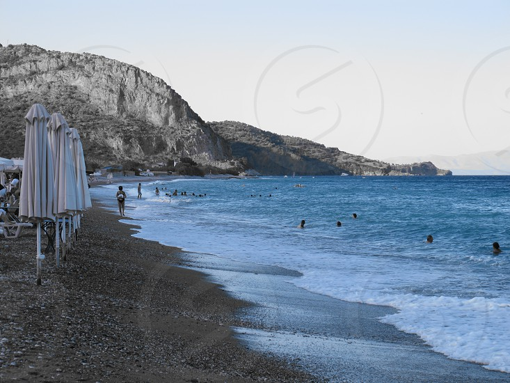 PLAKA BEACH GREECE photo