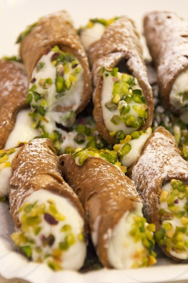 Typical Sicilian sweets photo