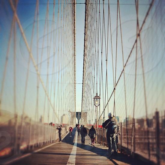 Brooklyn Bridge. NYC. photo