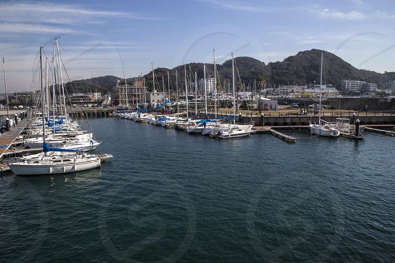 Hayama Kanagawa-ken Japan (site for 2020 Olympics sailing) photo
