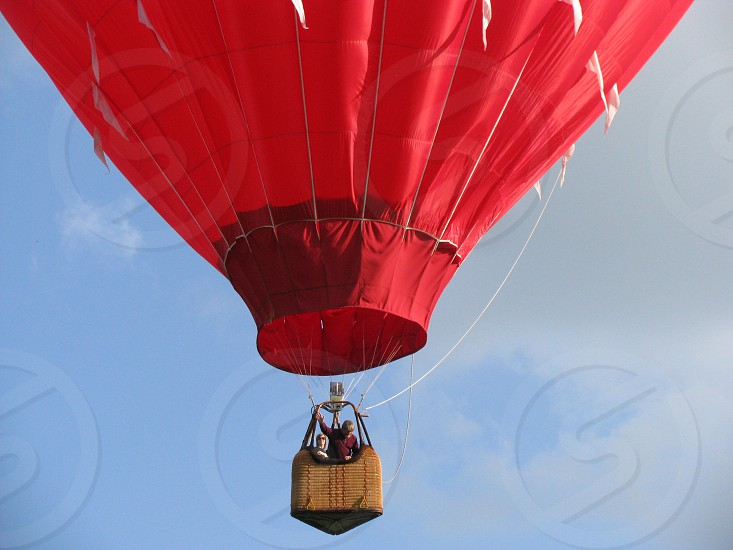 Hot air balloon balloon takeoff fly photo