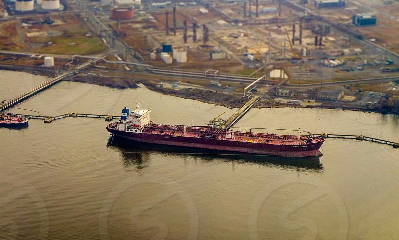 Ship on Delaware River photo