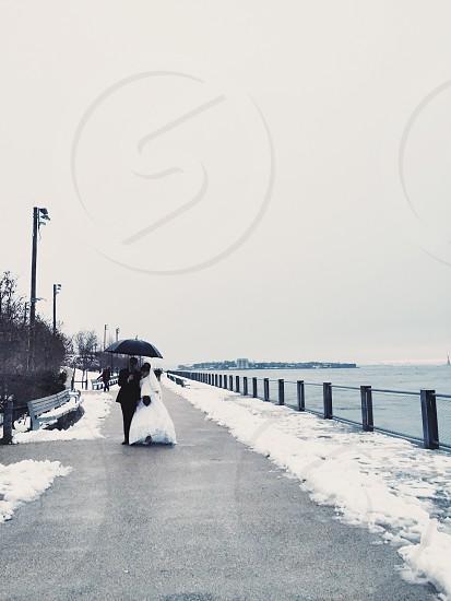 Brooklyn New York snow photo
