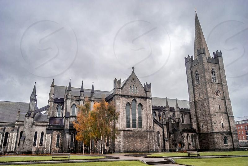 St Patrick's Cathedral Dublin Ireland. photo