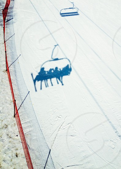 View from the ski lift. photo