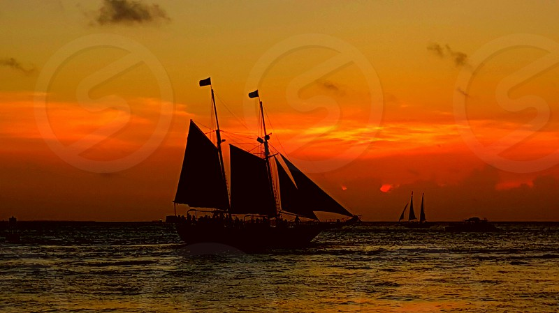 Sunset Sail in Key West photo