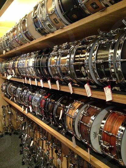 drum shelf photo