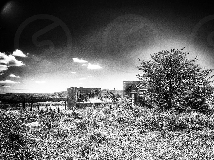 Infrared - Victory Indian Schoolhouse Cherokee County  Oklahoma photo
