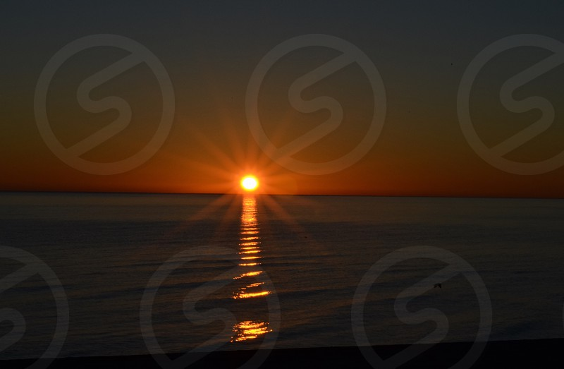 This is a sunrise picture I shot in Mexico  photo