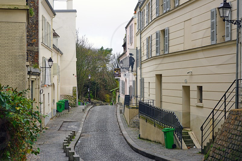Musee de Montmartre in Paris France photo