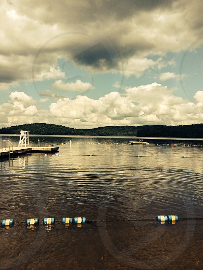 Lake Colby in Saranac Lake NY.  photo