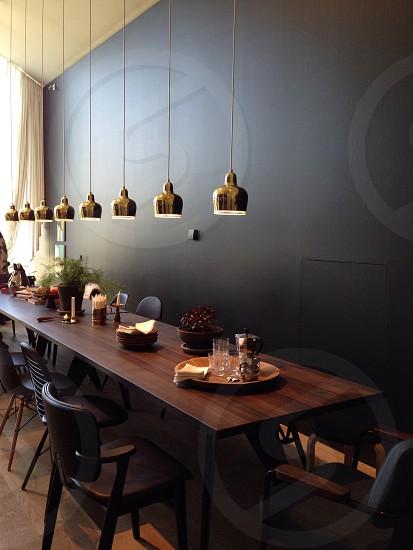 table arrangement photography photo